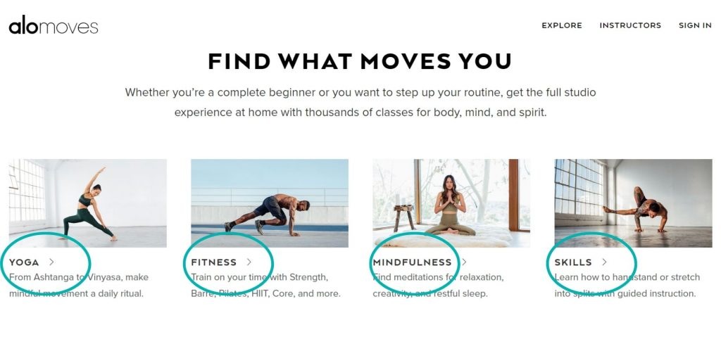 Alo Moves review fitness classes