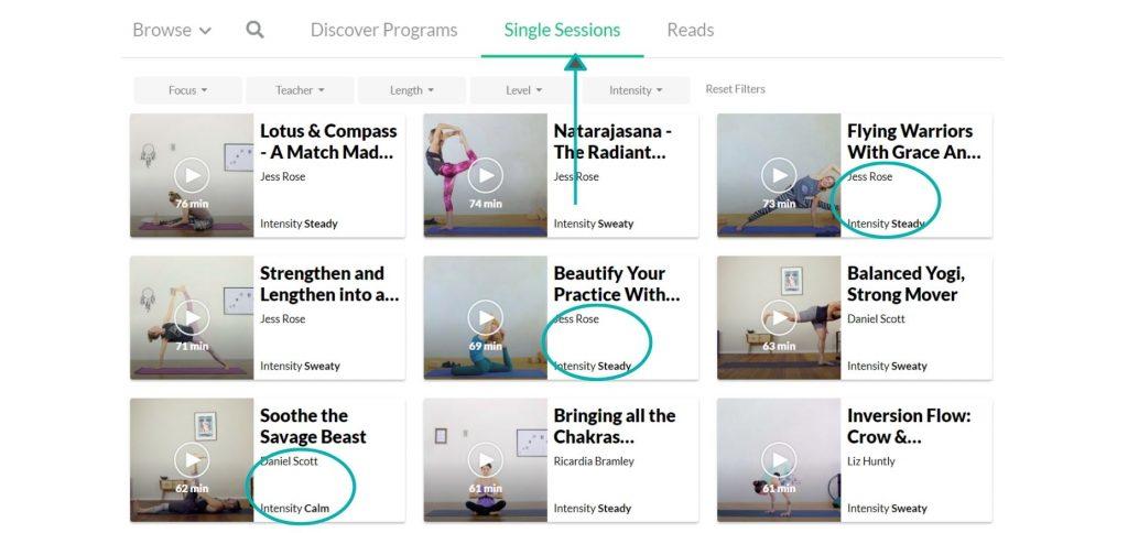 Enjoy online Vinyasa classes and online Yin yoga classes on Do You Yoga.