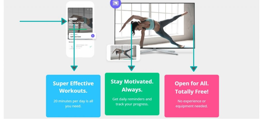 Join an online yoga challenge on Do You Yoga and level enjoy their challenging at home yoga workouts.