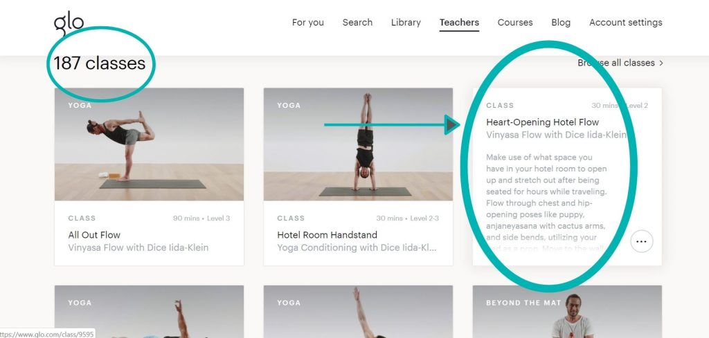 YogaGlo in-depth review