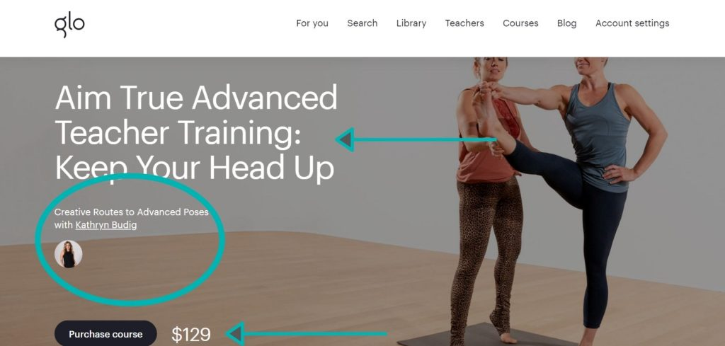Join advanced teacher training classes on Glo and learn specialty yoga styles and advanced yoga theory and practice.