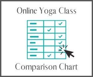 Online Yoga Class Comparison Chart
