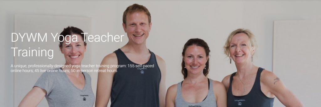 DoYogaWithMe Yoga Certification Online Course
