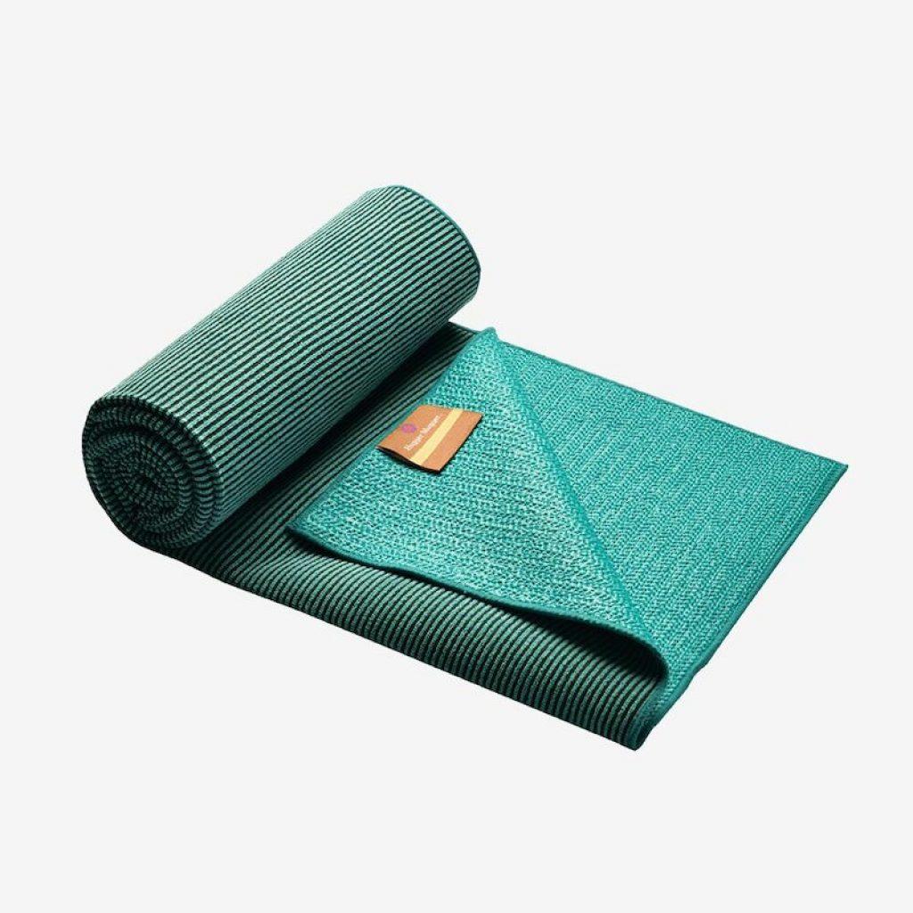 Yoga towel for sweaty hands