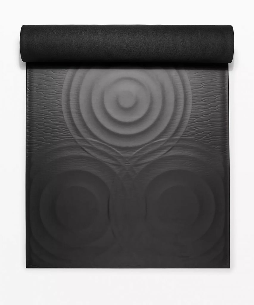 Lululemon Take Form Yoga Mat Black
