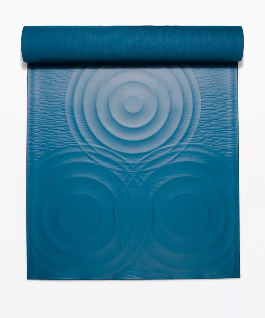 Lululemon Take Form Yoga Mat Blue Borealis