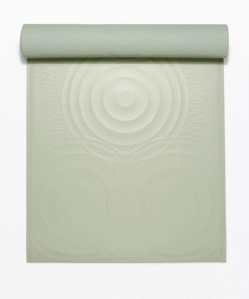 Lululemon Take Form Yoga Mat Green Fern