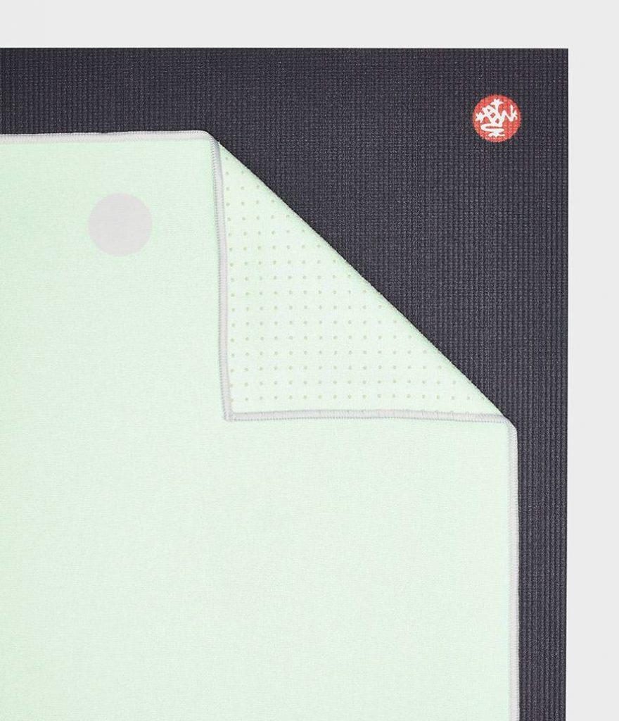 Yoga mat towel for non slip yoga mat