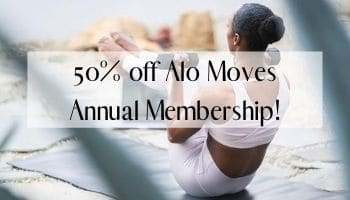 Alo Moves Promo Code – 50% Off Annual Membership!