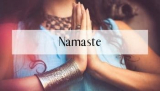 Namaste Symbol of Honor and Grace